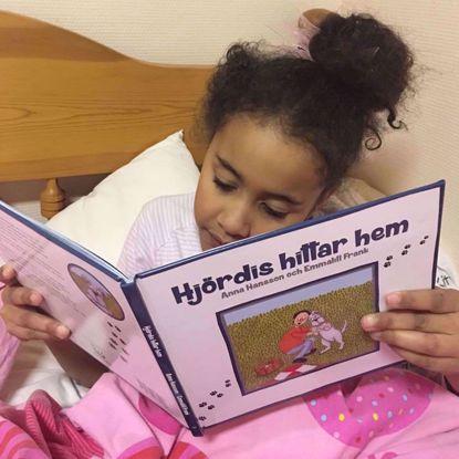 Barnboken Hjördis hittar hem
