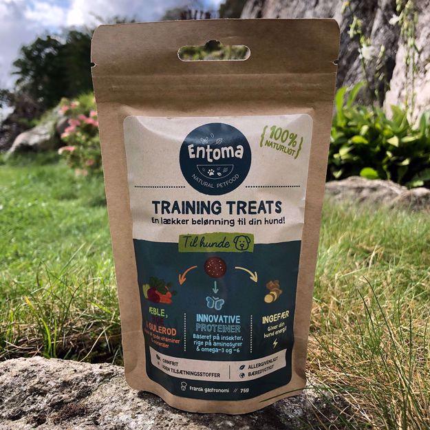Entoma Training Treats, träningsgodis baserat på insektsprotein
